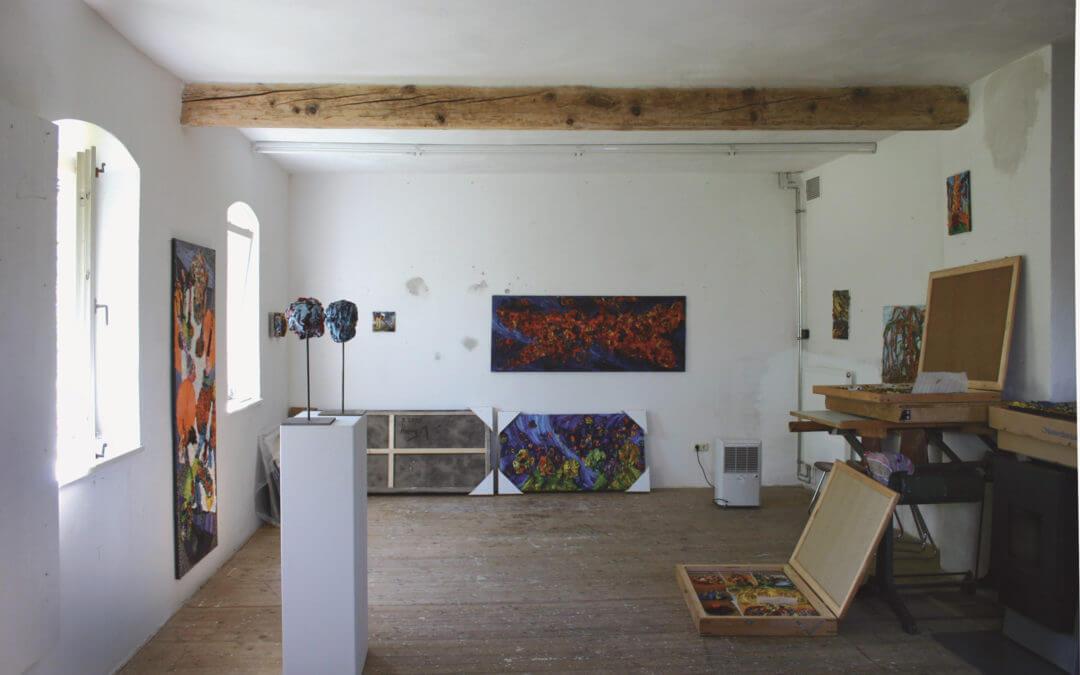 Im Atelier von Harry Meyer