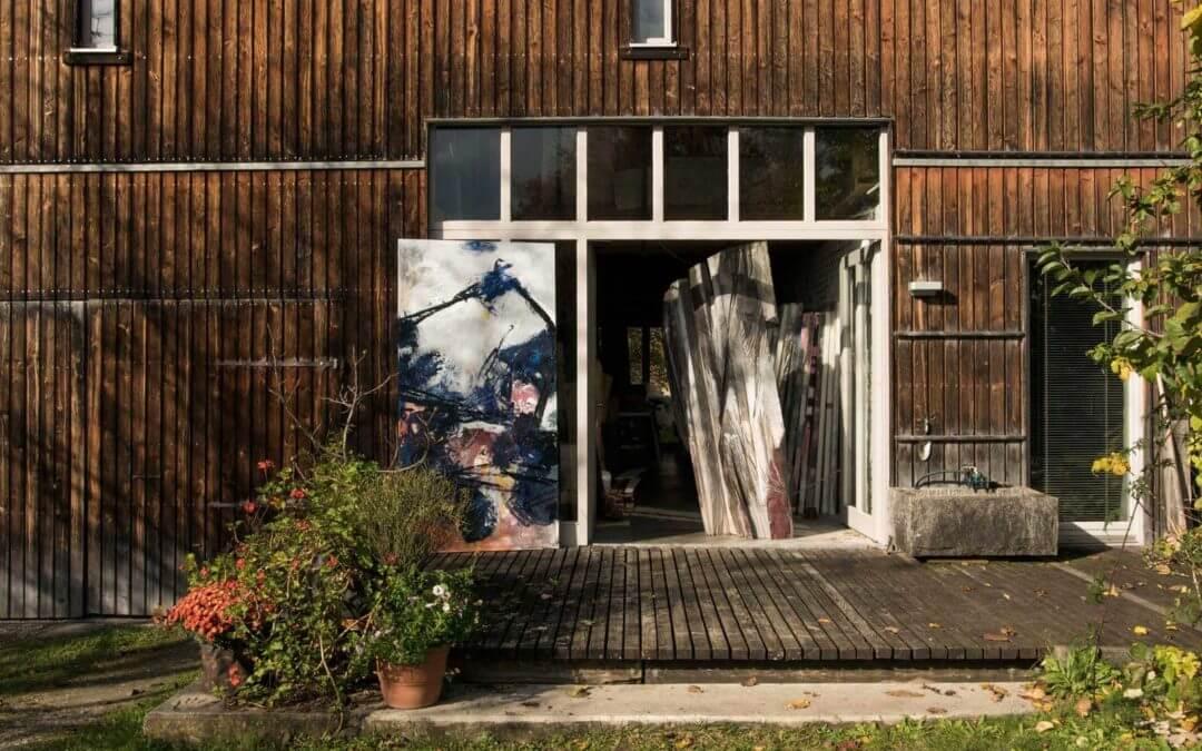 Im Atelier von Norbert Kiening