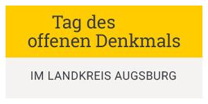 Tafel Tag des offenen Denkmals im Landkreis Augsburg