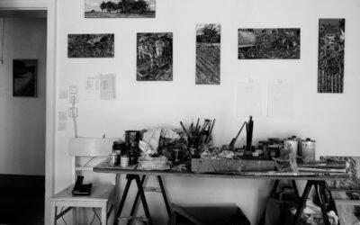 Im Atelier von Jan Walter Junghanss